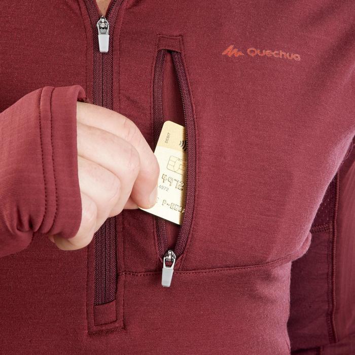 T-shirt manches longues trekking montagne TREK 900 wool homme - 1199679