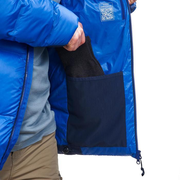 Donsjas voor bergtrekking heren Trek 900 blauw