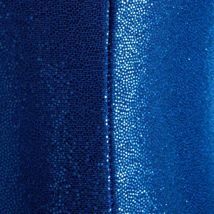 Justaucorps sans manches Gym Féminine (GAF) paillette/strass/voile - 1199786