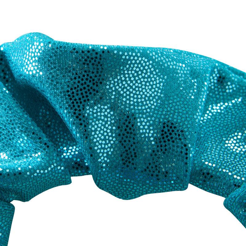 Chouchou paillettes Gym Féminine (GAF et GR) turquoise - Decathlon ... 28c646ffe36