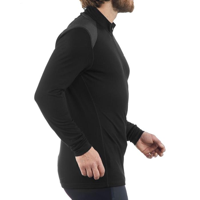 T- Shirt manches longues trekking Techwool 190 zip homme - 1199817