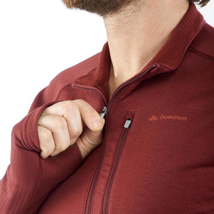 T-shirt manches longues trekking montagne TREK 900 wool homme - 1199833