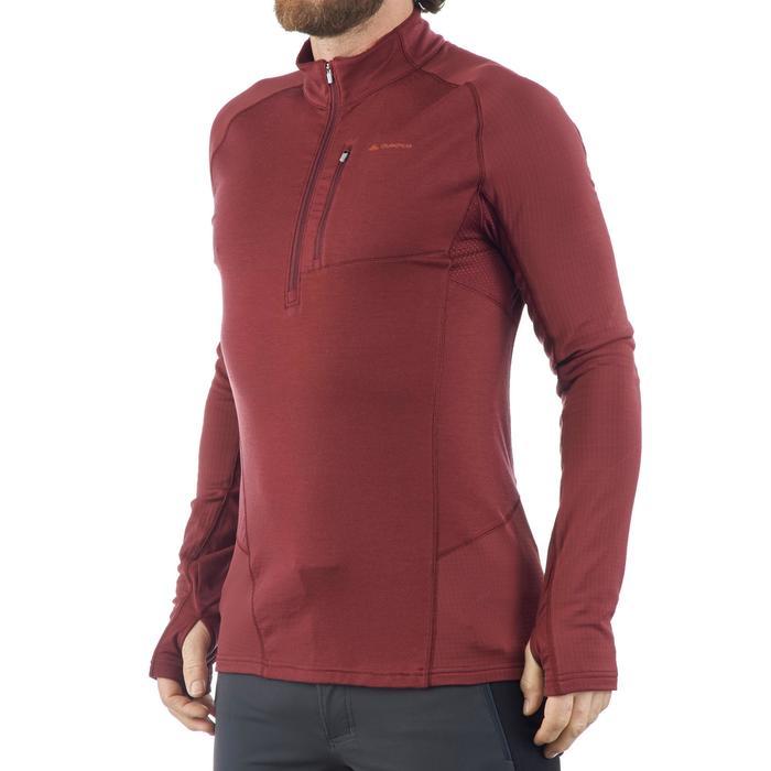 T-shirt manches longues trekking montagne TREK 900 wool homme - 1199877