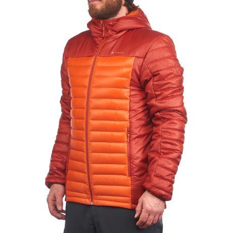 doudoune trekking x light homme orange quechua. Black Bedroom Furniture Sets. Home Design Ideas