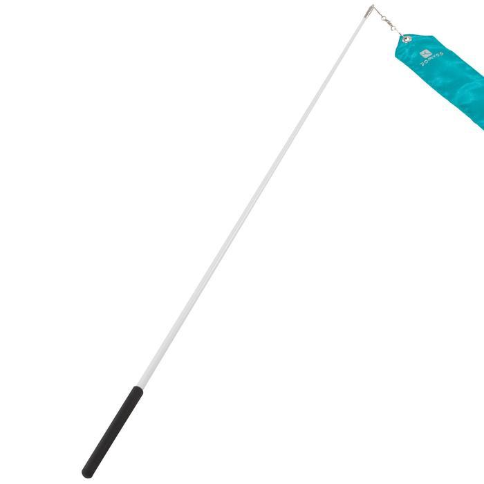 Ruban de Gymnastique Rythmique (GR) de 6 mètres Turquoise - 1199914