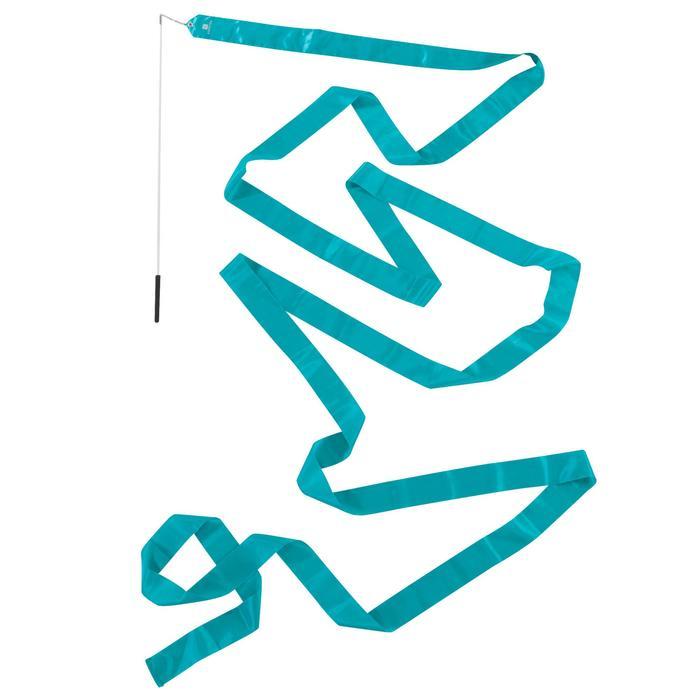 Ruban de Gymnastique Rythmique (GR) de 6 mètres Turquoise - 1199916