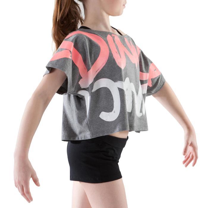 T-shirt danse court et ample manches courtes fille. - 1199945