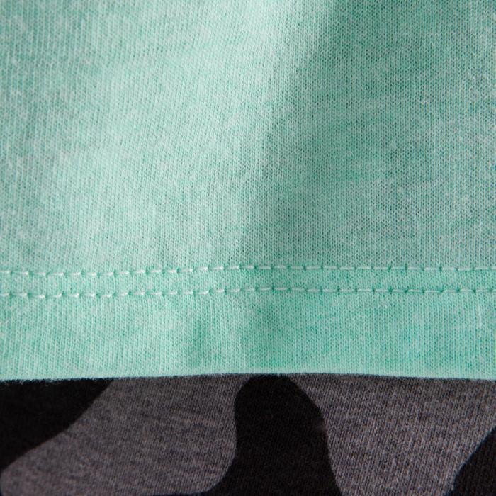 T shirt ouverture côté orange fille - 1199976