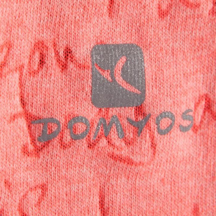 T shirt ouverture côté orange fille - 1199993
