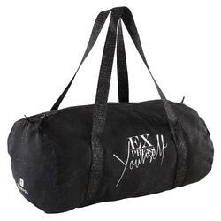Sporttasche Dance Mädchen 15 L schwarz mit Glitzer