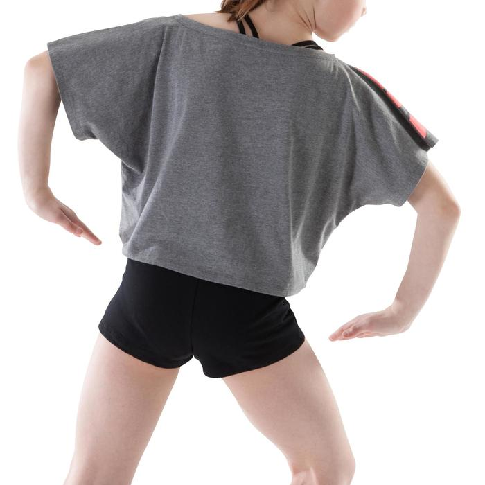 T-shirt danse court et ample manches courtes fille. - 1199999