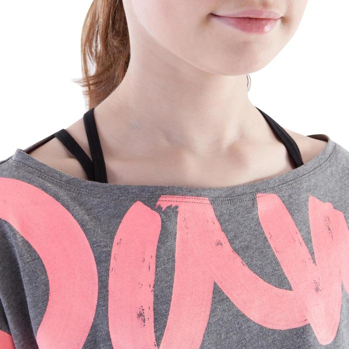 T-shirt danse court et ample manches courtes fille. - 1200004