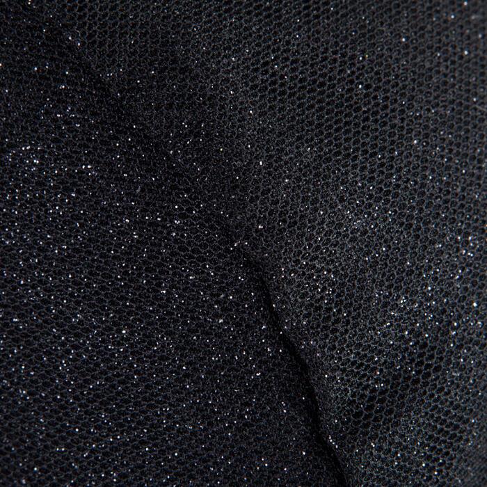 Kokertas voor ballet 15 l lovertjes zwart