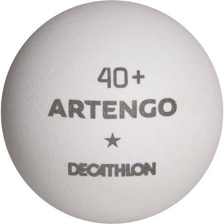 FB 830+ 1* 4+ Table Tennis Balls x 72 - White