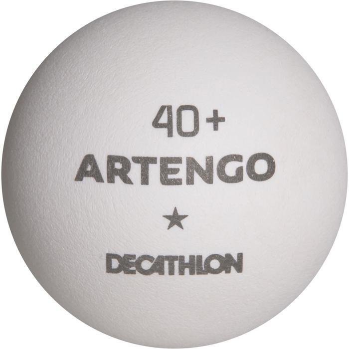 Tafeltennisballetjes FB830 1 ster 40+, 72 stuks wit