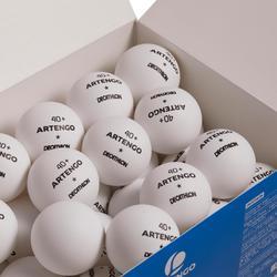 Tafeltennisballen FB 830+ 1* 4+ 72 stuks wit