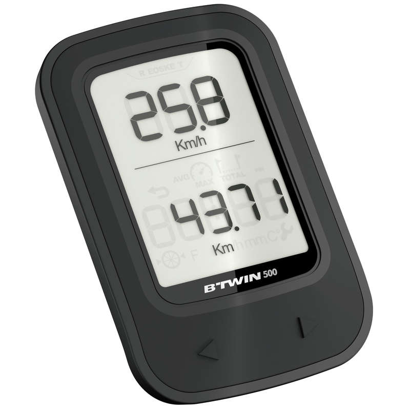 BIKE COMPUTERS Cycling - 500 Wireless Cyclometer VAN RYSEL - Bike Accessories