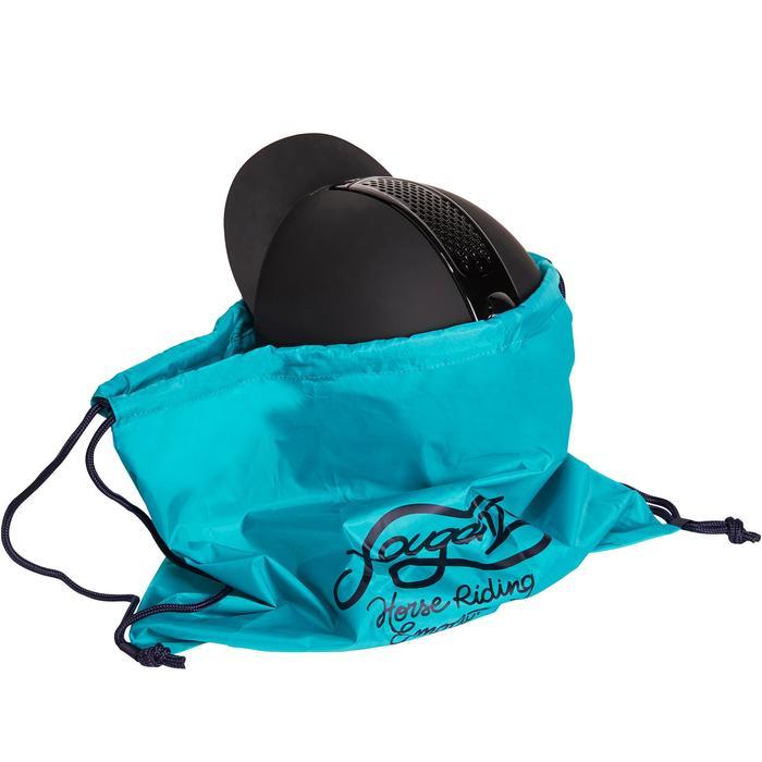 Sac à casque pliable turquoise et marine - 1200117
