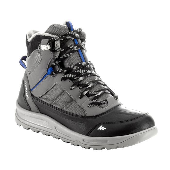 Chaussure de randonnée neige homme SH100 active chaudes et  imperméables gris - 1200154