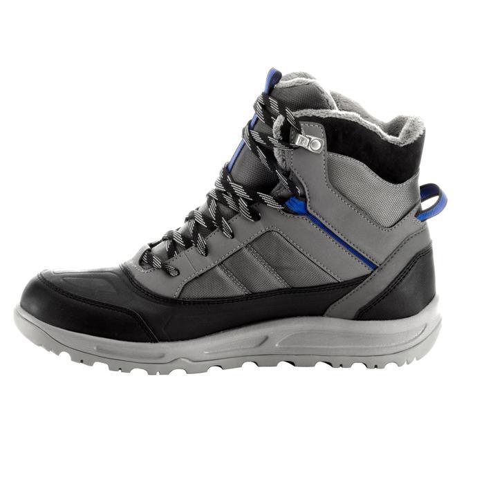 Chaussure de randonnée neige homme SH100 active chaudes et  imperméables gris - 1200155