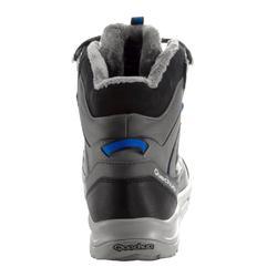 Chaussures de randonnée neige homme SH120 warm mid grises.