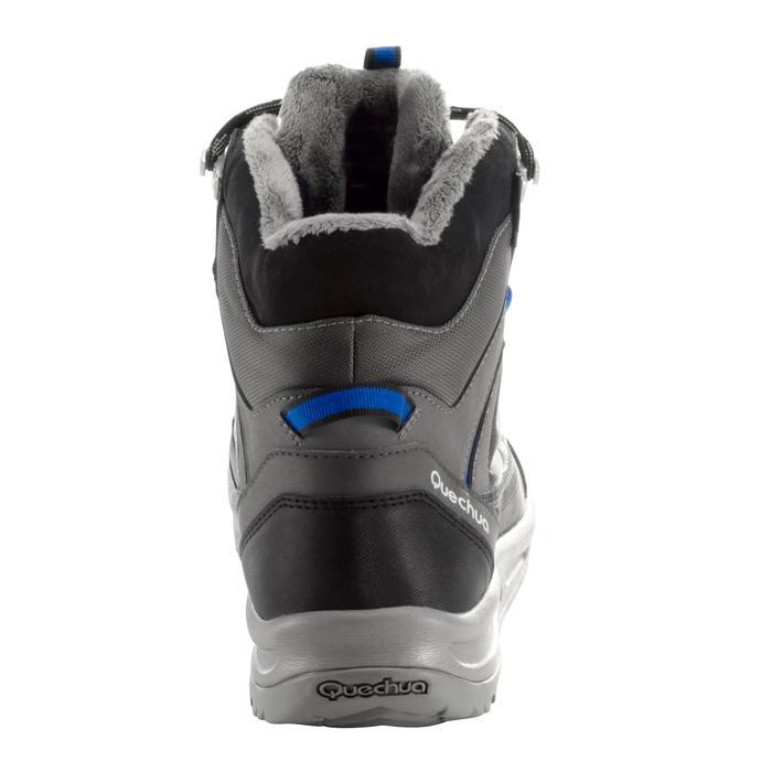 Heren wandelschoenen voor de sneeuw SH120 Warm mid grijs