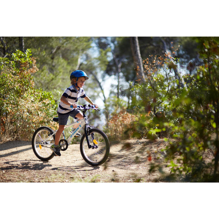 "Mountainbike 20"" Racing Boy 300 Kinder weiss/blau"