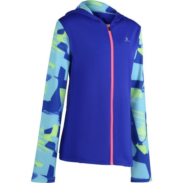 Veste zippée capuche Gym Energy fille - 1200245