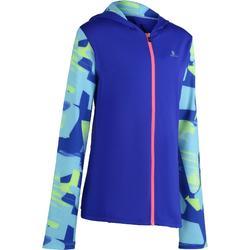 Veste zippée capuche Gym Energy fille