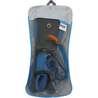 PMT R'gomoove Adult Snorkelling Set with fins, mask and snorkel Grey Blue