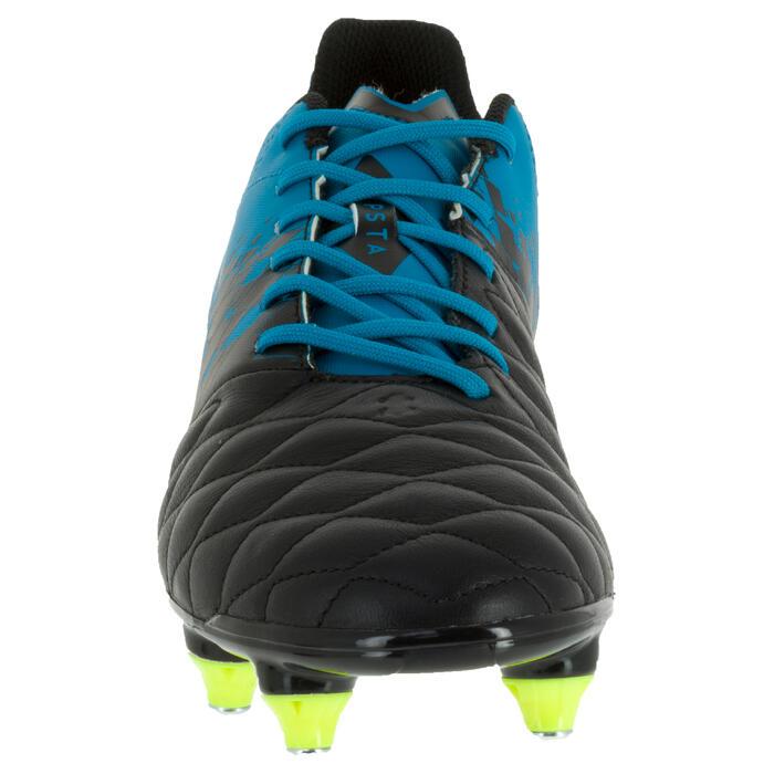 Chaussure de rugby adulte hybride Agility 900 SG bleu/noir - 1200419