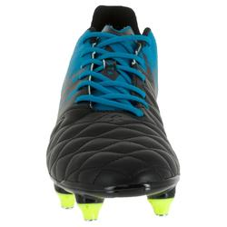Chaussure de rugby homme hybride Agility R900 SG bleu noir