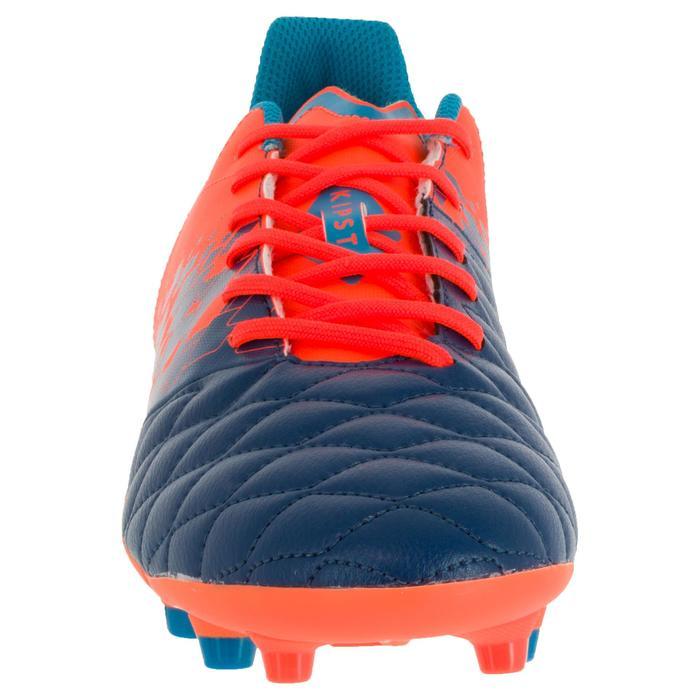 Chaussure de rugby adulte terrains secs Agility 500 FG orange bleue - 1200420