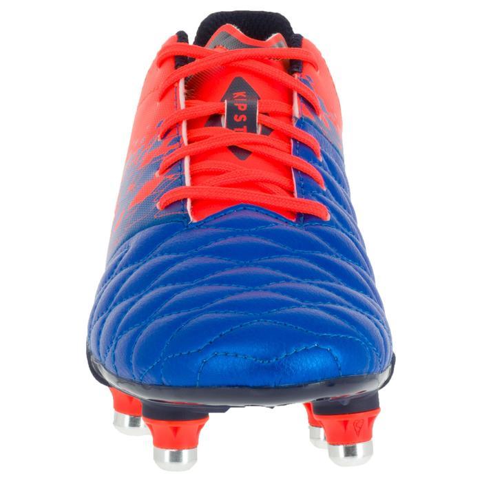 Crampons de rugby enfant terrains gras Agility 900 SG bleue orange - 1200425