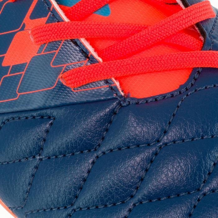 Chaussure de rugby adulte terrains secs Agility 500 FG orange bleue - 1200440