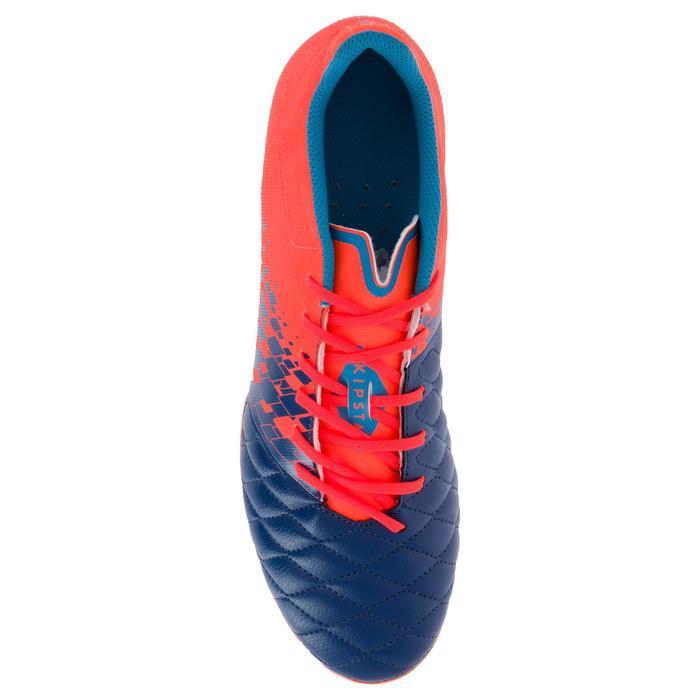 Chaussure de rugby adulte terrains secs Agility 500 FG orange bleue - 1200479