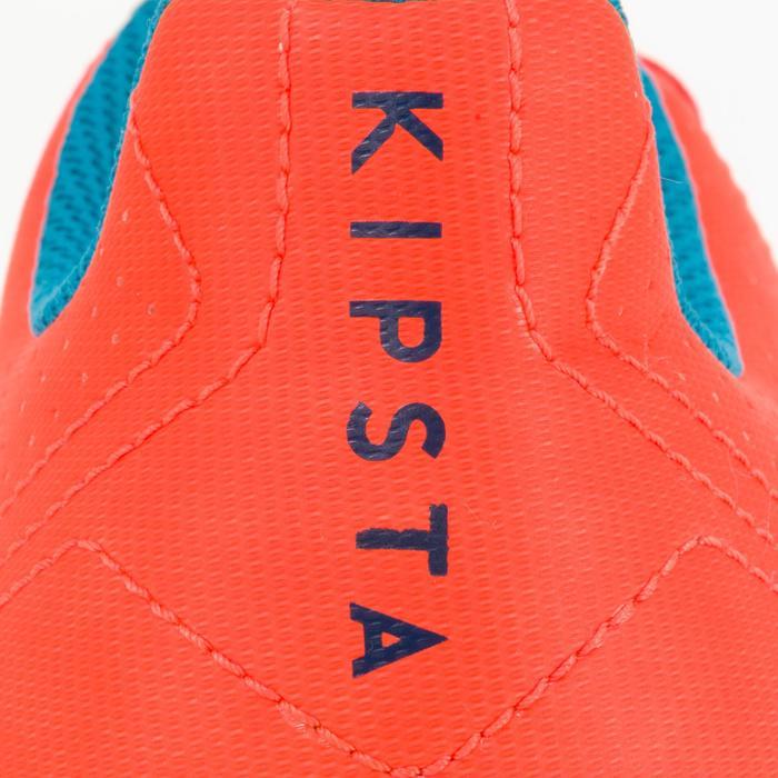 Chaussure de rugby adulte terrains secs Agility 500 FG orange bleue - 1200481