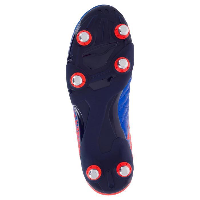 Crampons de rugby enfant terrains gras Agility 900 SG bleue orange - 1200489