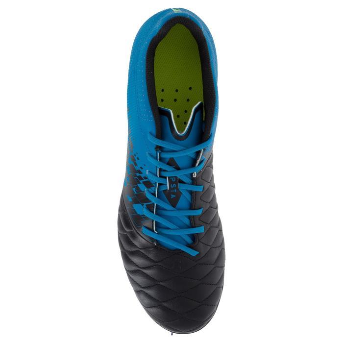 Chaussure de rugby adulte hybride Agility 900 SG bleu/noir