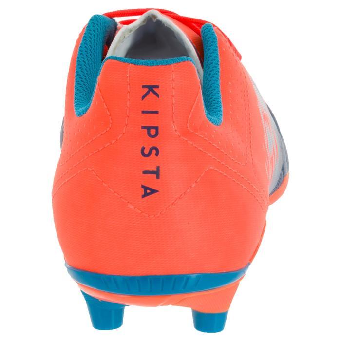 Chaussure de rugby adulte terrains secs Agility 500 FG orange bleue - 1200513