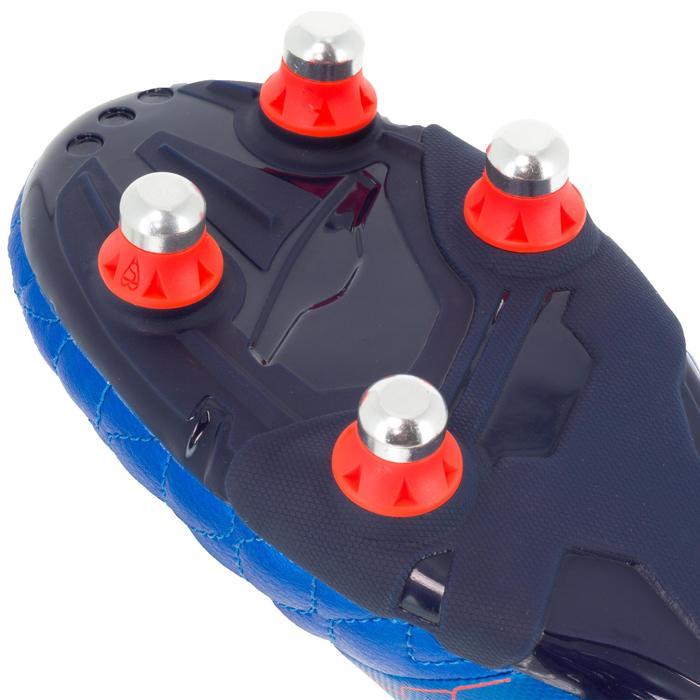 Crampons de rugby enfant terrains gras Agility 900 SG bleue orange - 1200524
