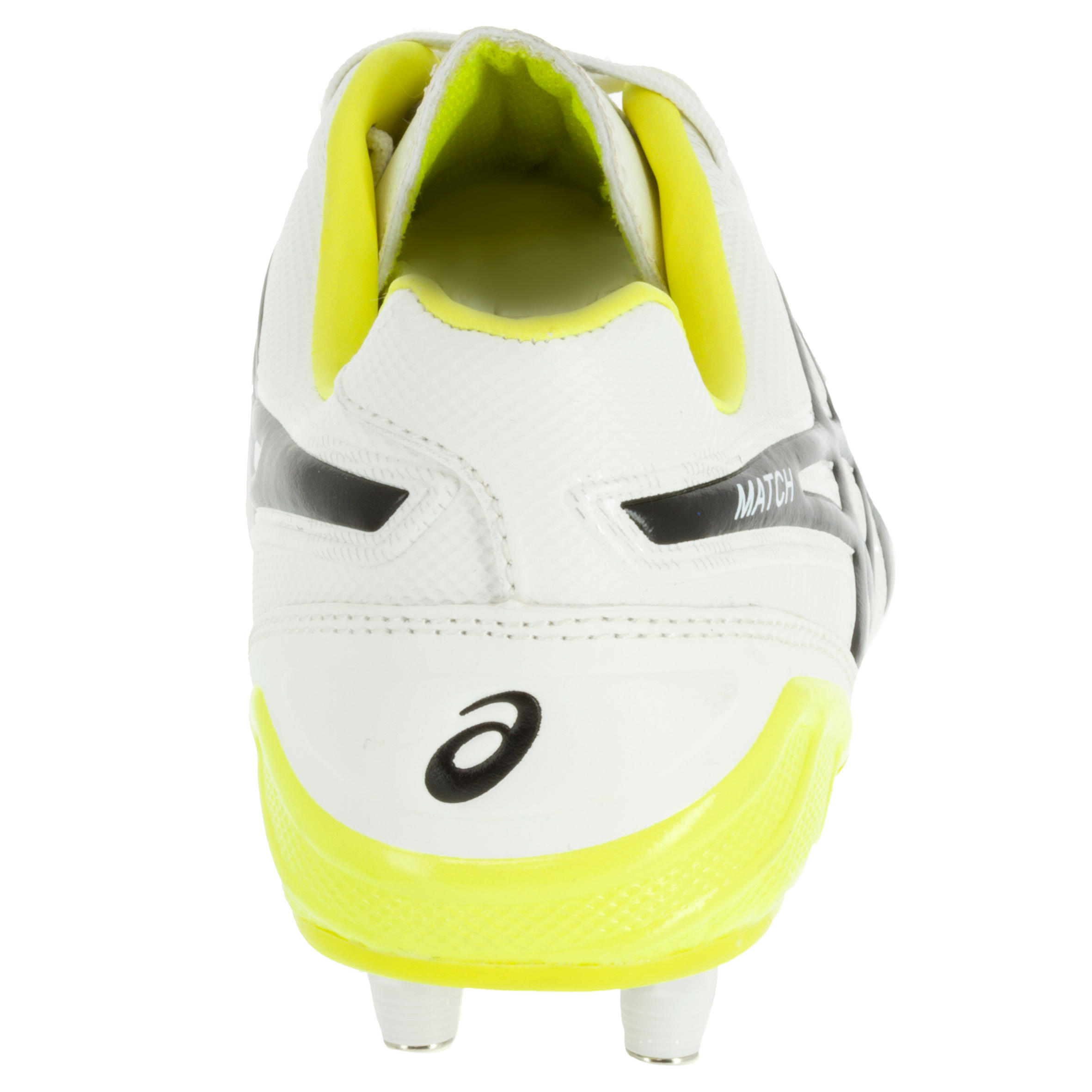 Sg De Asics Match Chaussure 6 Crampons Rugby Adulte Blancnoir FlJTK1c