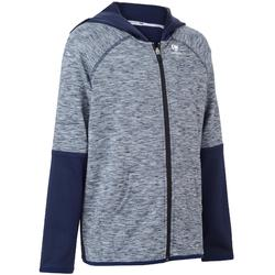 Dry 500 Junior Tennis Jacket - Navy