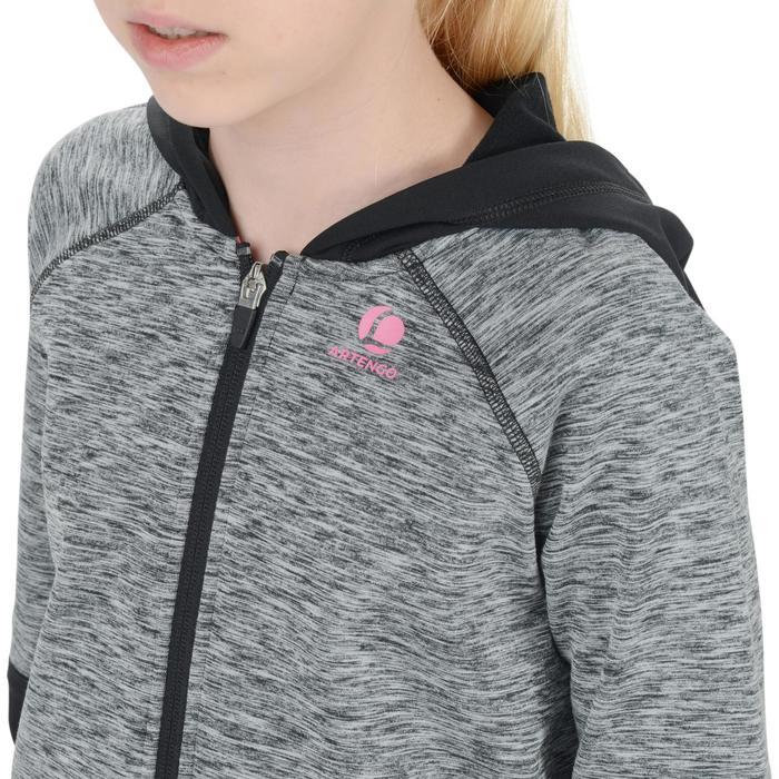 Vest Dry junior 500 zwart/roze tennis