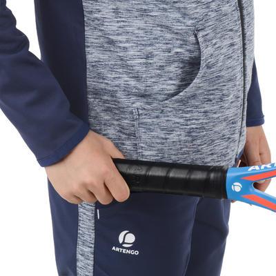 ז'קט טניס Dry 500 לילדים - כחול צי