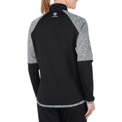 Tennisvest Warm dames 500 zwart