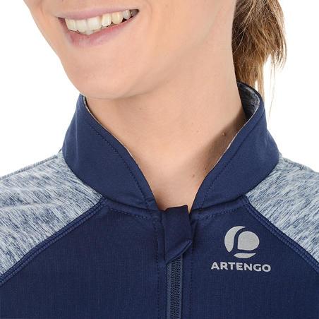 Warm 500 Women's Tennis Jacket - Navy