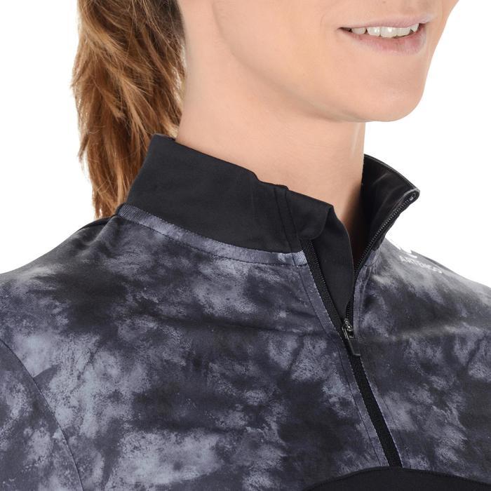Thermic 900 3/4-Sleeve Tennis Top - Chalk/Black