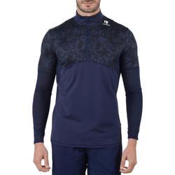 Langarmshirt 900 warm Herren marineblau