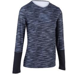 Essential Women's Tennis T-Shirt - Blue/Pink